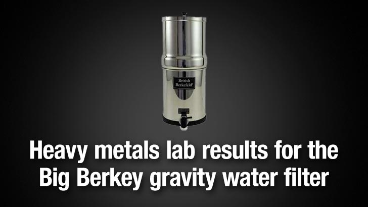 big berkey was by far the gravity water filter we tested achieving neartotal removal of all toxic elements when used with the attached